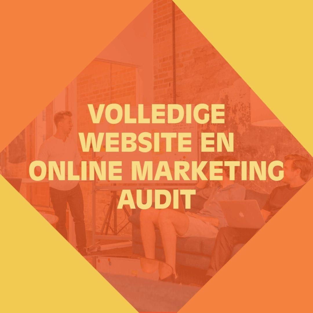 Website en Online Marketing Audit