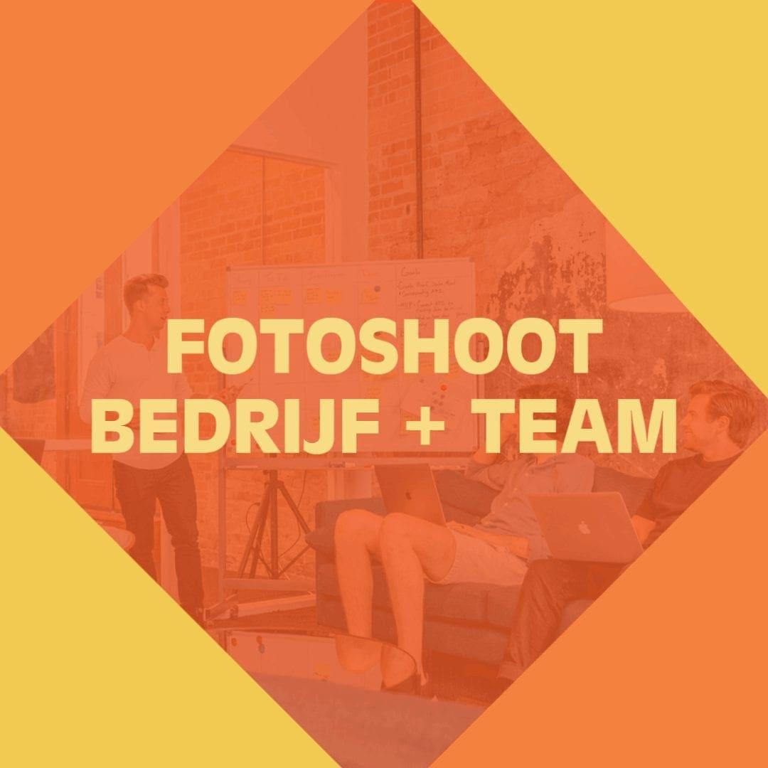 Fotoshoot bedrijf en team