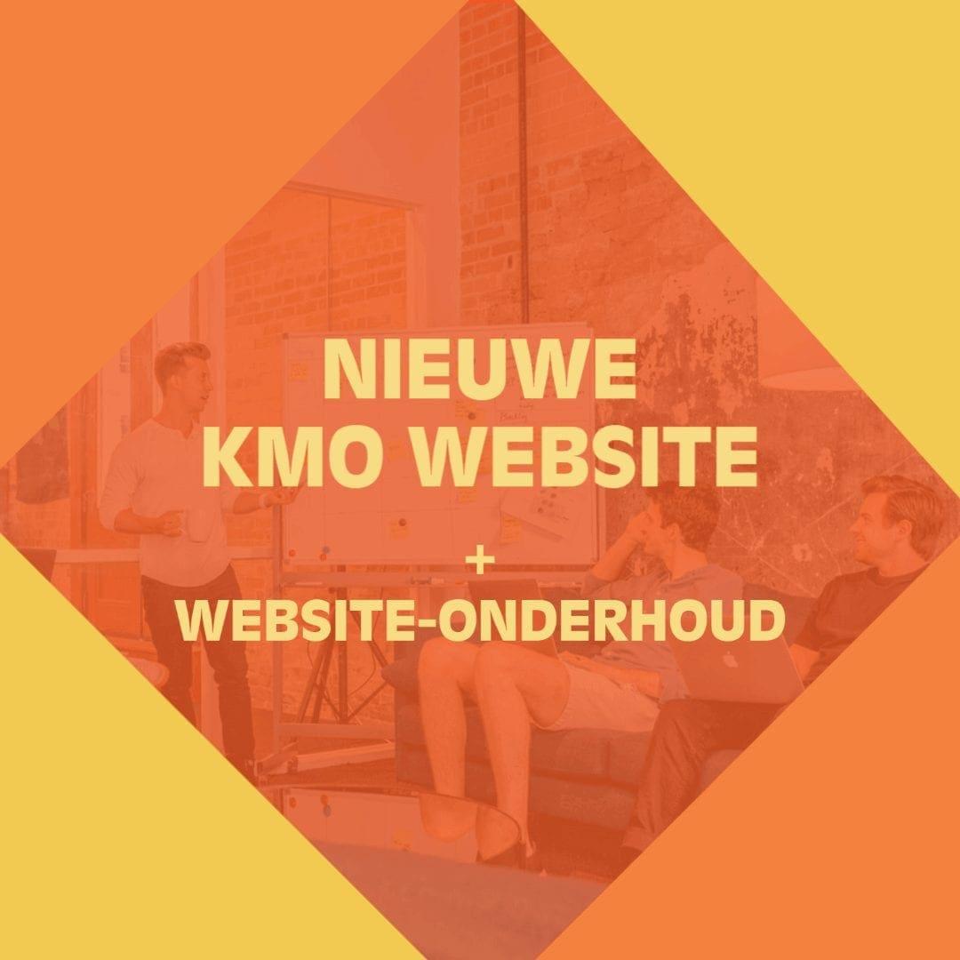 Nieuwe website voor KMO's en website-onderhoud