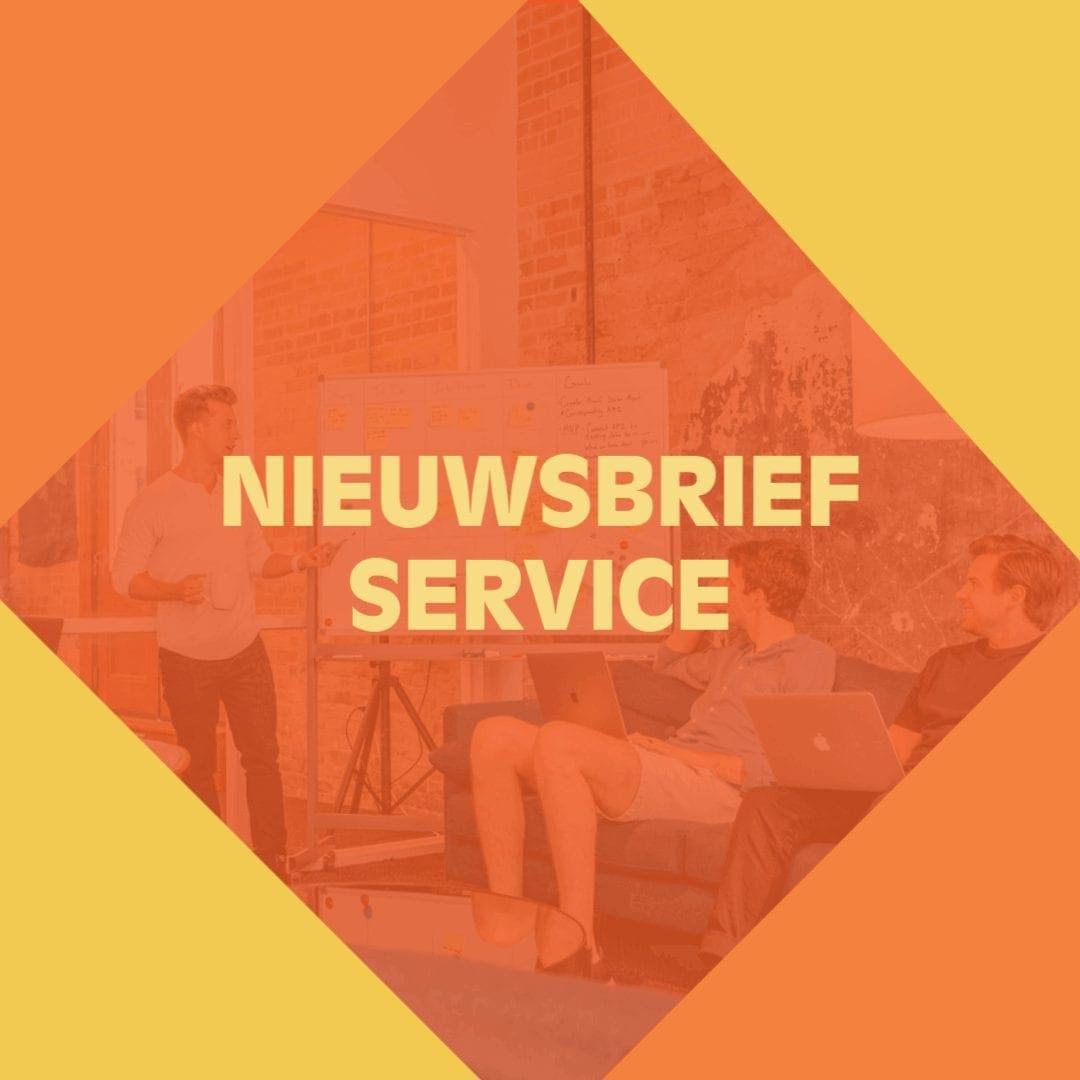 Nieuwsbrief Service