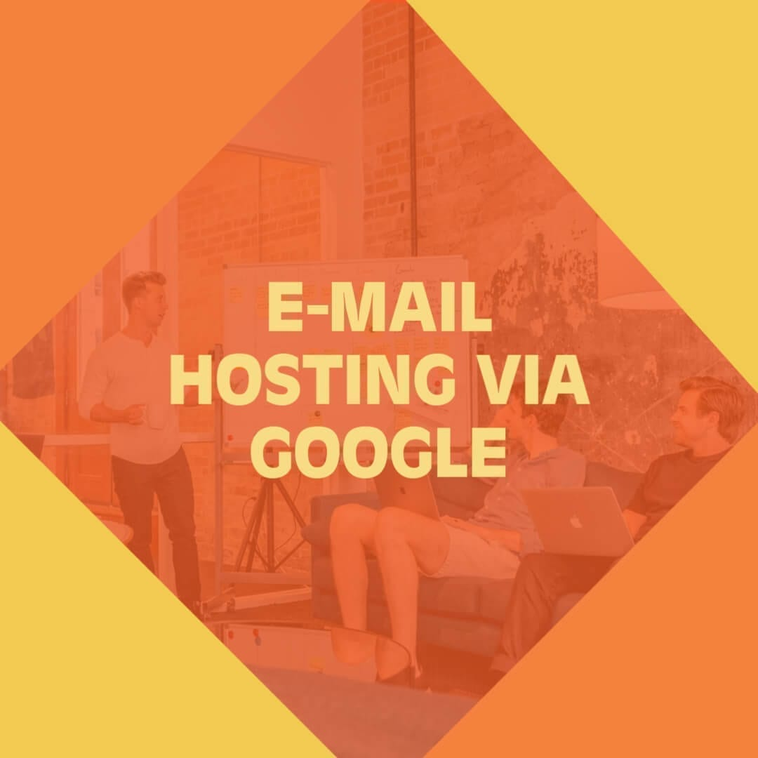 E-mail hosting via Google